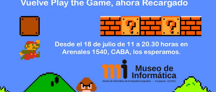 Vuelve Play The Game Recargado