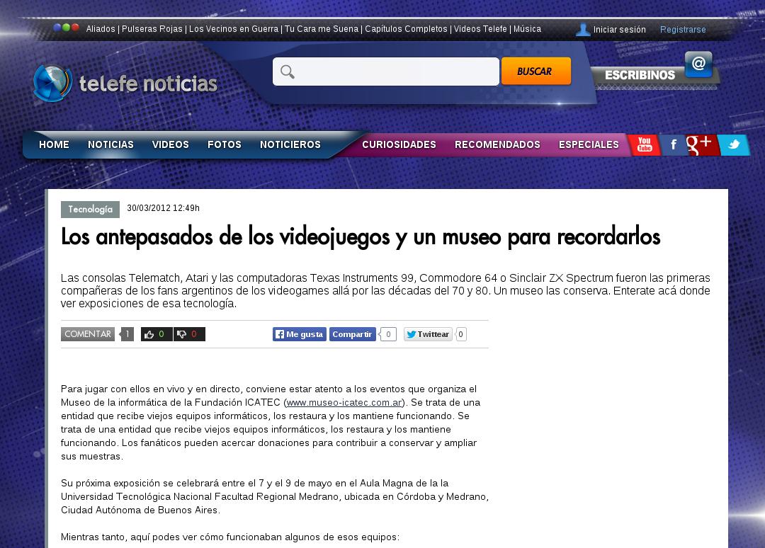 NOTA TelefeNoticias