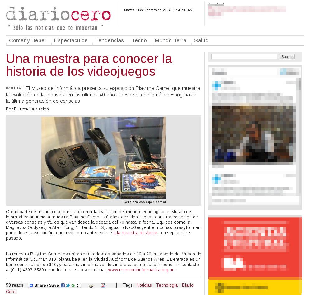 diariocero 07 de enero del 2014