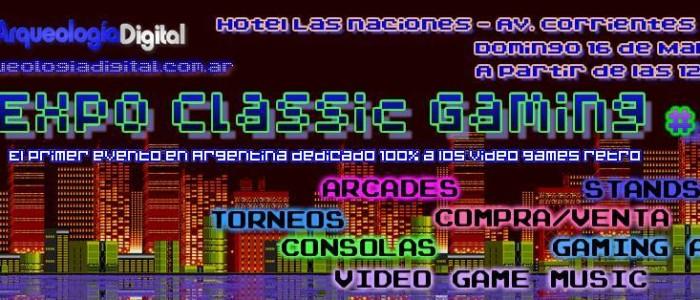 El Museo presente en Expo Classic Gaming #2